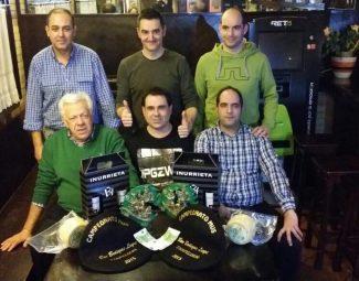 Final de mus en Bodegas Leyre en Pamplona