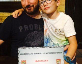 Premio semana del pincho de Arrosadia, Pamplona