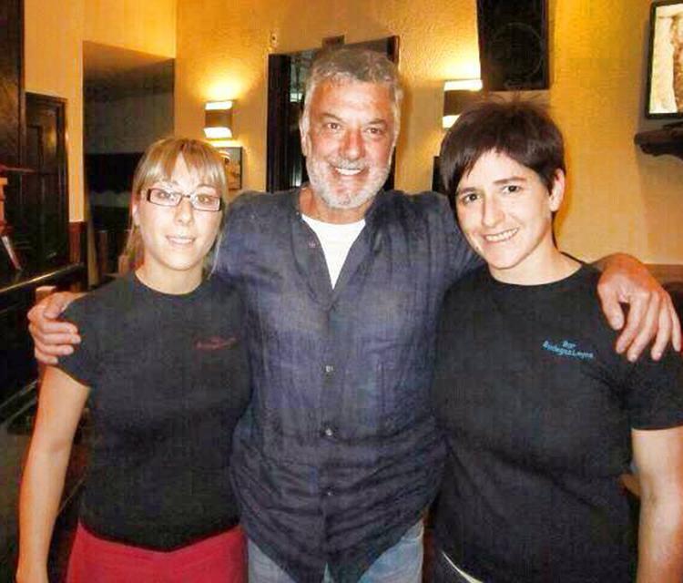 Adolfo Fernández en Bodegas Leyre Pamplona