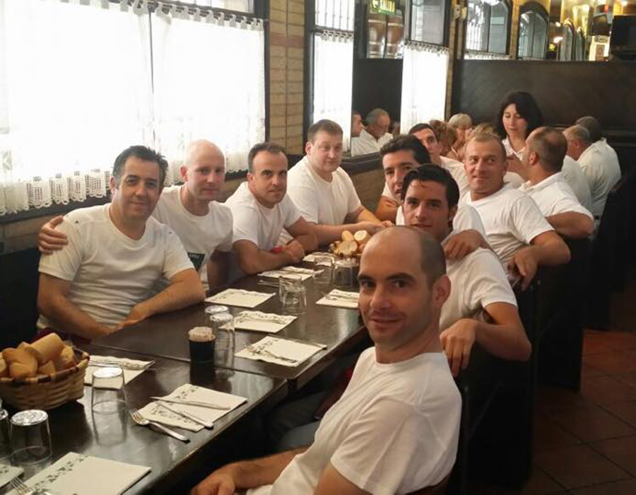 Almuerzo 6 de Julio en Pamplona