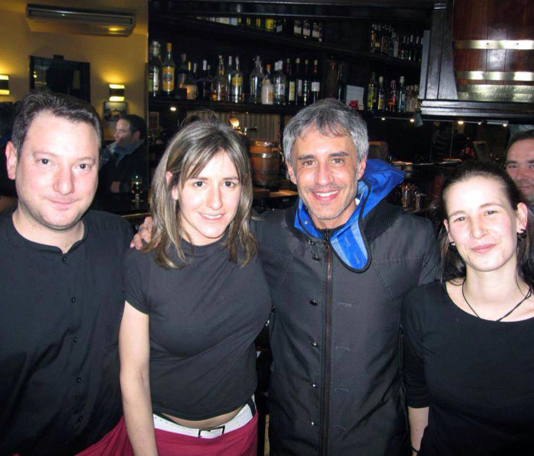 Sergio Dalma en Bar Bodegas Leyre, Pamplona