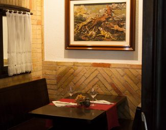Comer en bar Leyre, Pamplona
