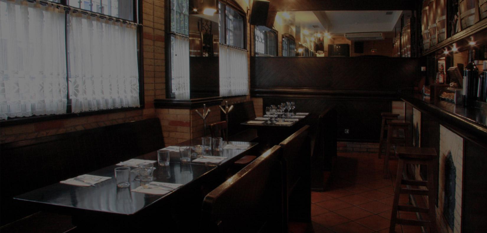 Restaurante bar en pamplona bar bodegas leyre - Cocinas leyre ...